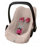 ByBoom® - Frottee Sommerbezug, Schonbezug für Babyschale, Autositz, z.B. Maxi Cosi CabrioFix, City, Pebble; Designed in Germany, MADE IN EU